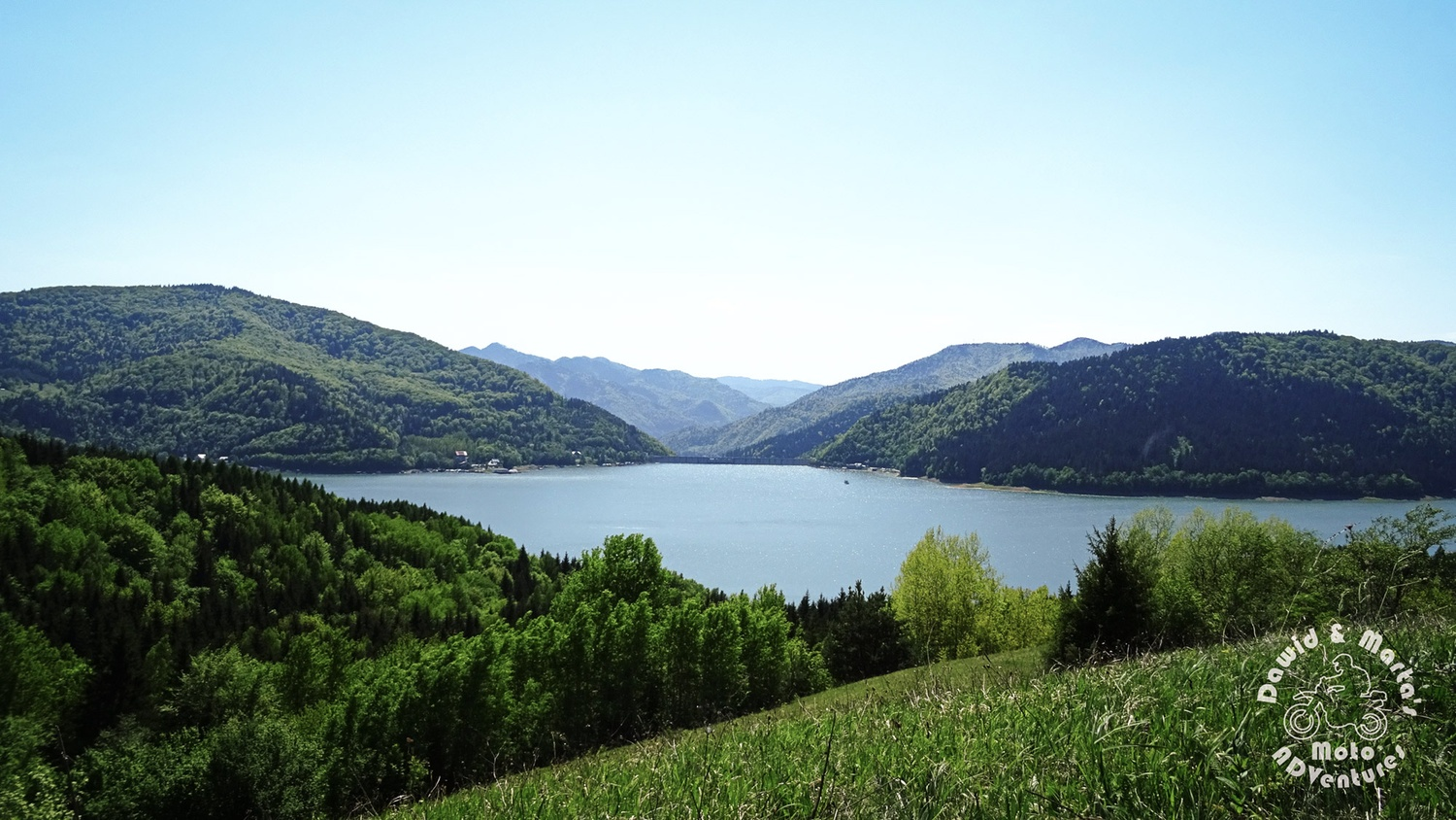 viewpoint on the Bicaz Lake, located on a small hill between Potoci and Ruginesti