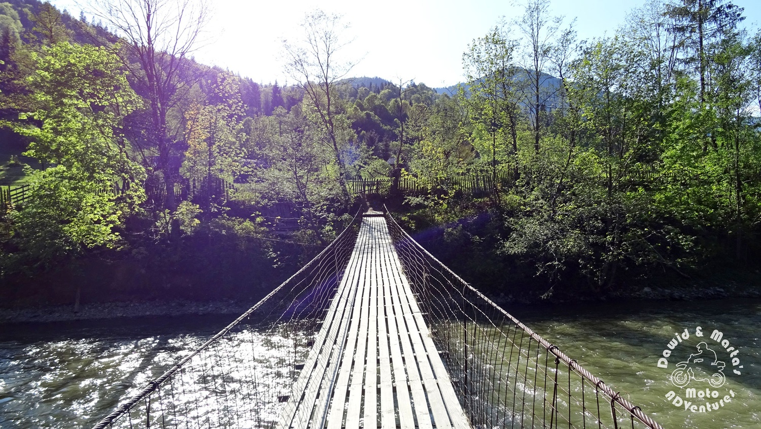 Bridge over Bistrita River