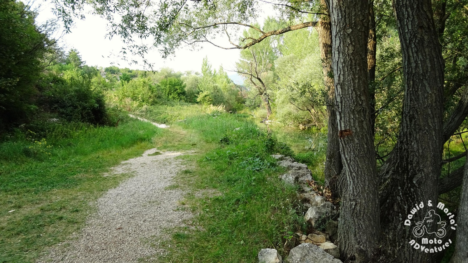 Walking to the Cetina River spring