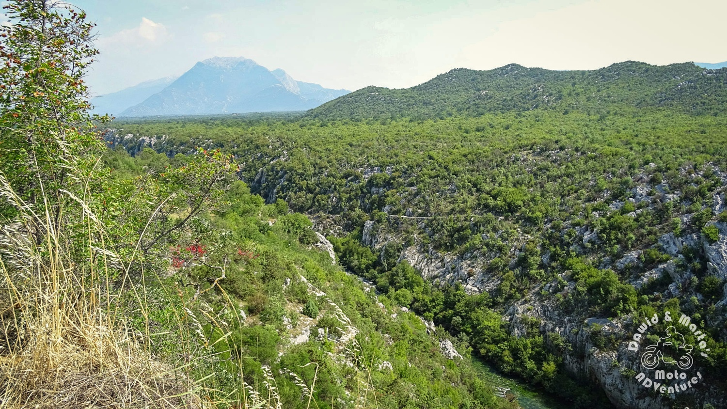 The Cetina River canyon