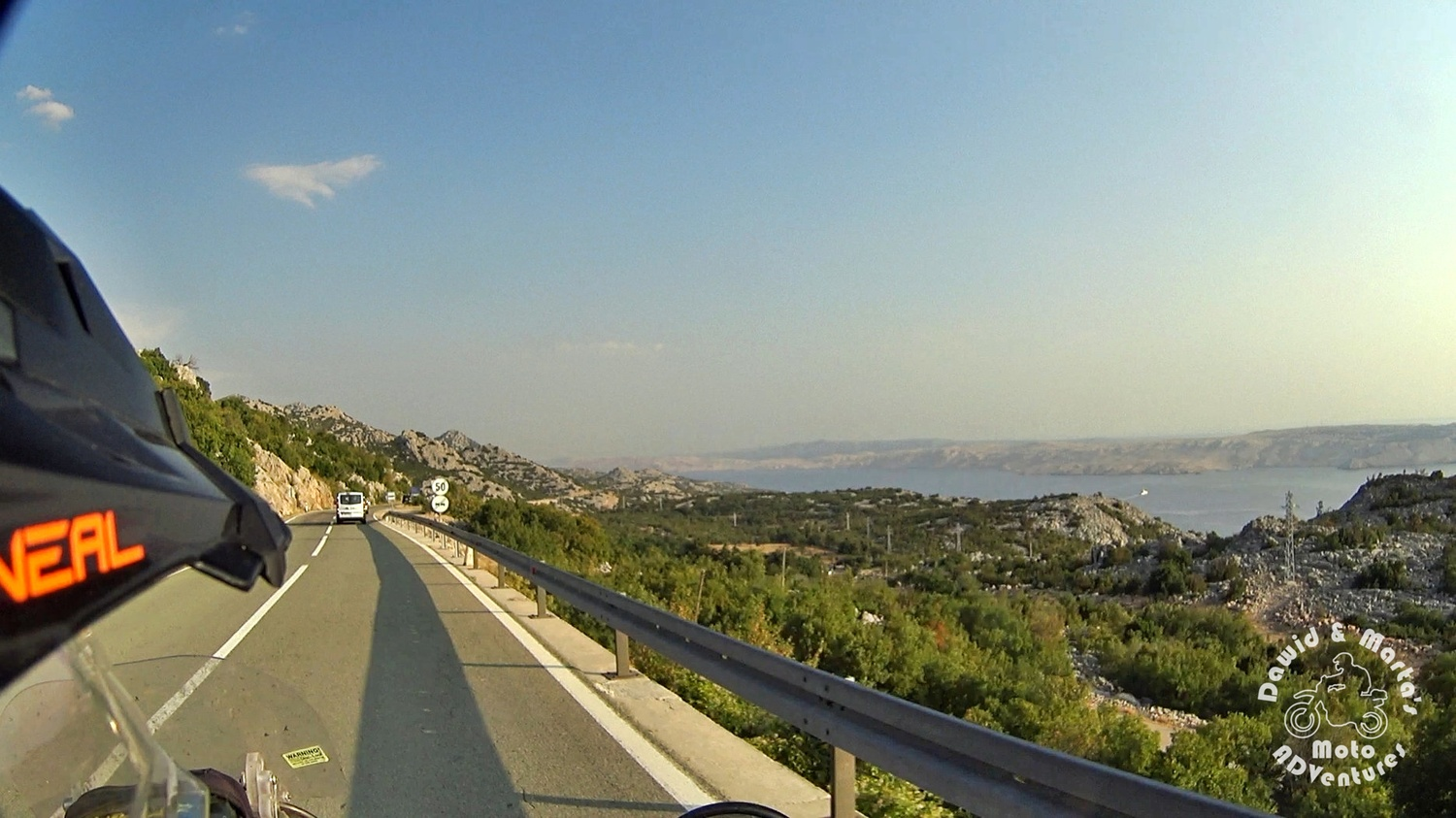 The Pag Island on the horizon - view from the E65 Adriatic Highway.jpg