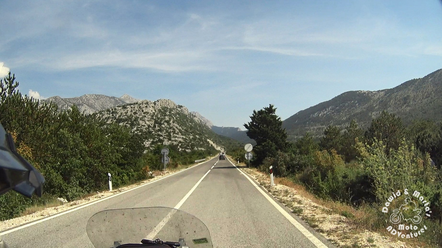 Road to Nature Park Biokovo
