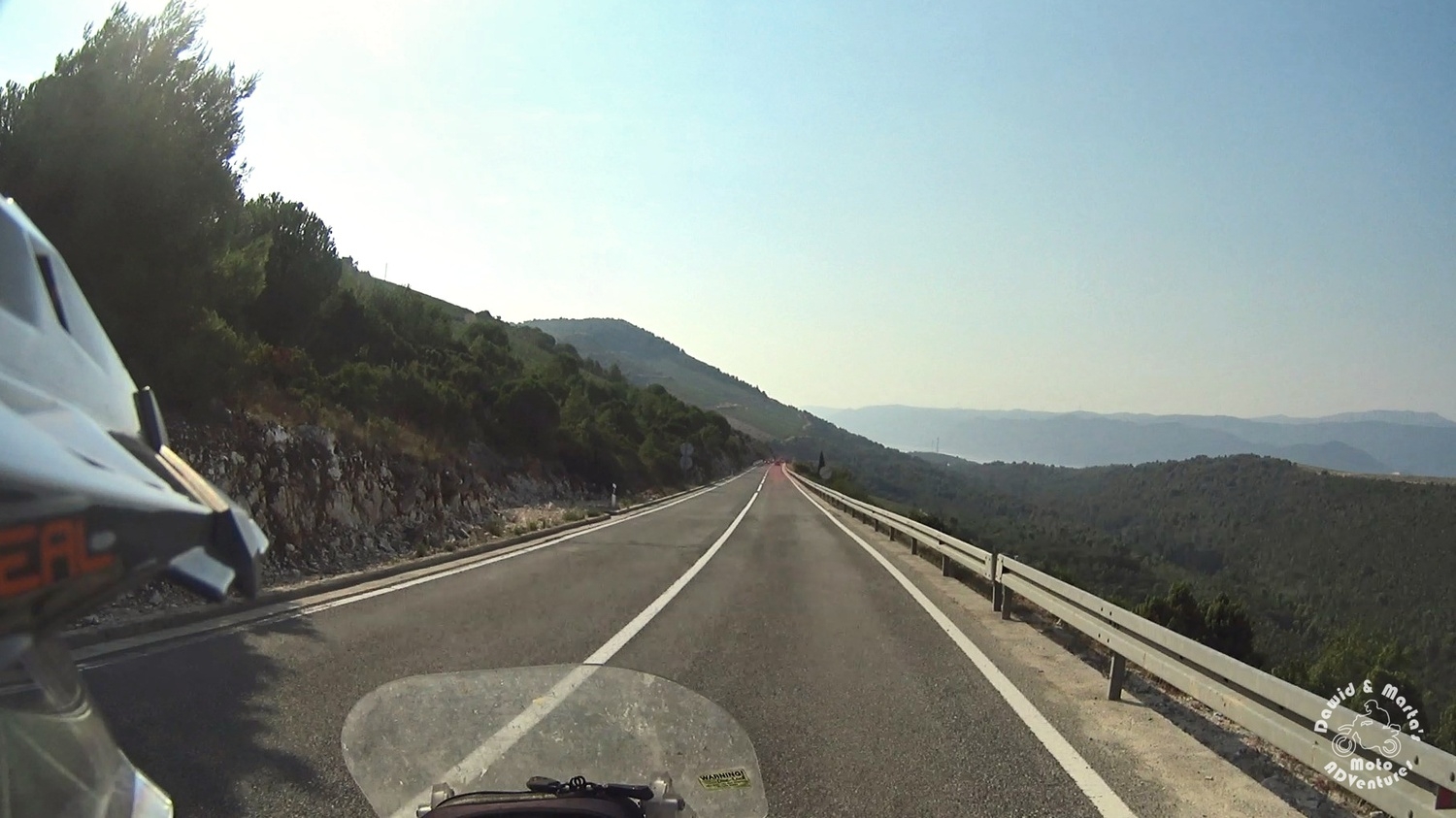 Adriatic Highway near Raba