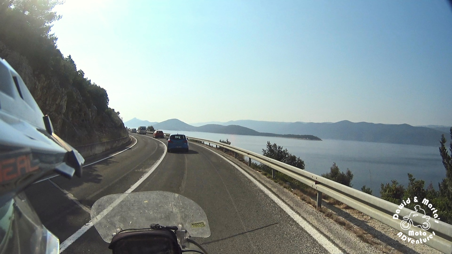 Adriatic Highway near Klek