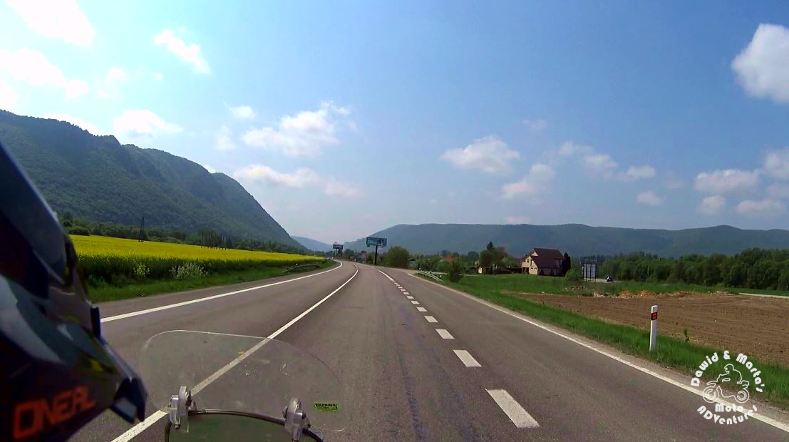 Snap from Slovakian e58 road
