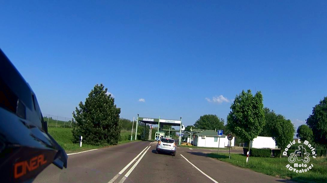 romania border in Bors