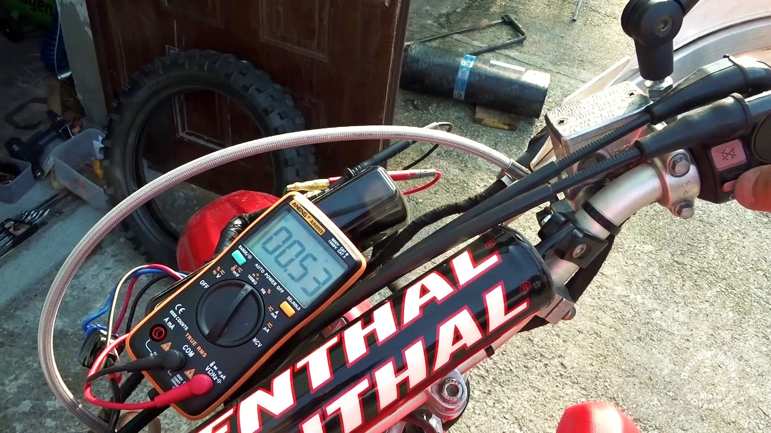 Testing the XR400 kill switch